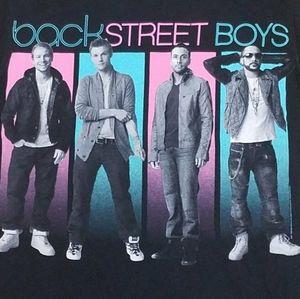 2011 BACK STREET BOYS OlD SCHOOL T-SHIRT